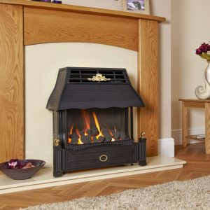 Ultra High Efficiency Outset Gas Fire