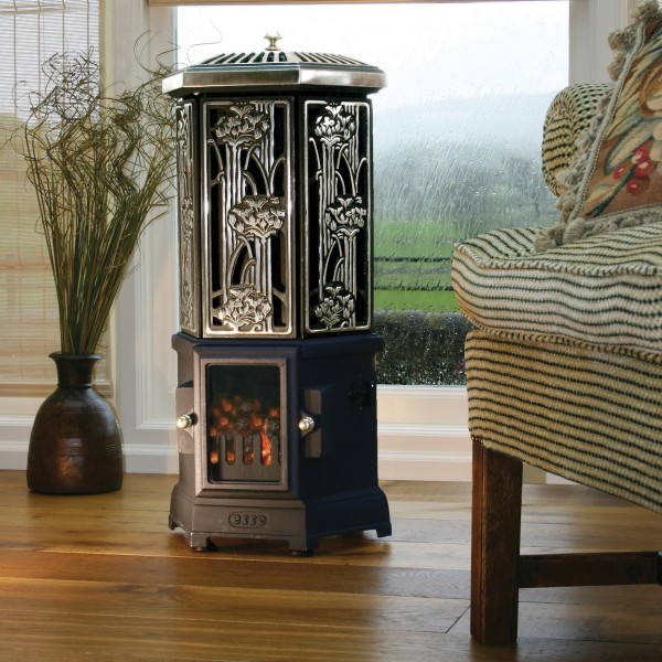 Esse electric polished stove